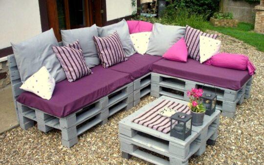 Comment fabriquer un salon de jardin en palette ?